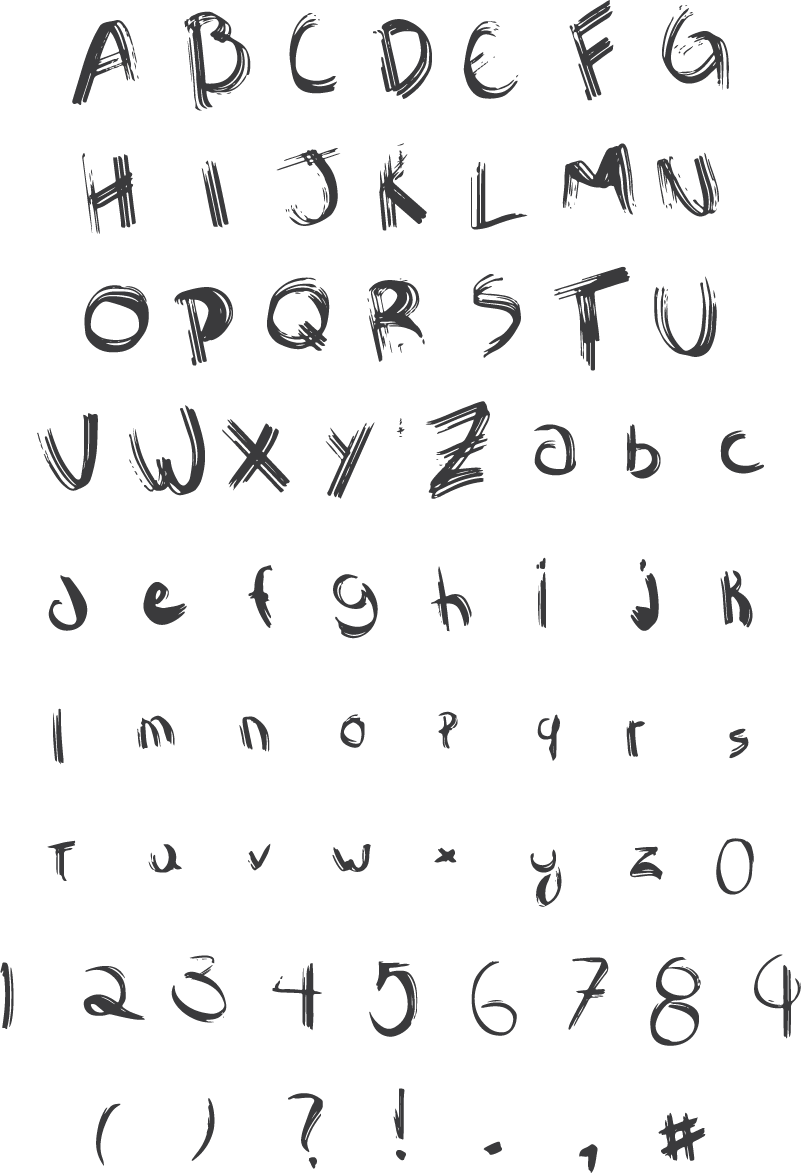 Sawage Brush Font