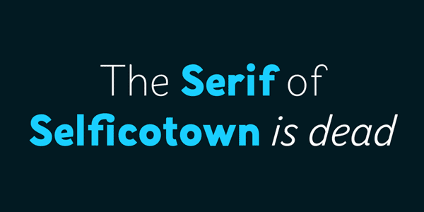 Selfica Font Family