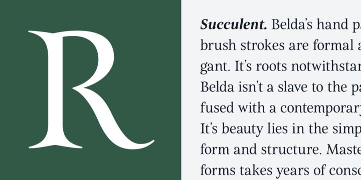 Belda Font