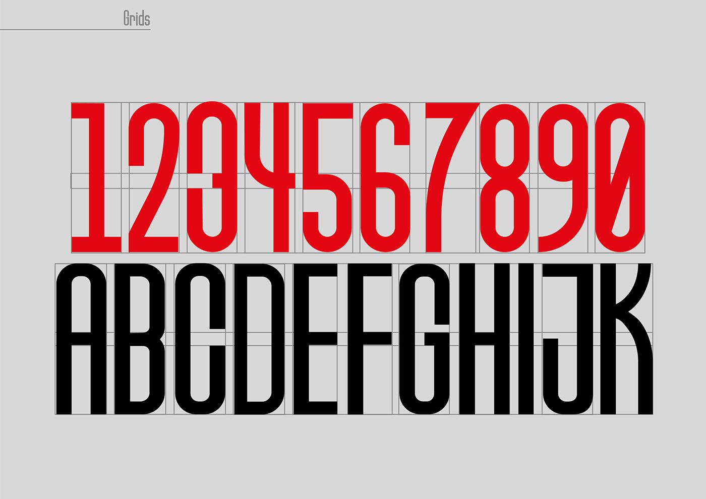 Friedrichshain Typeface