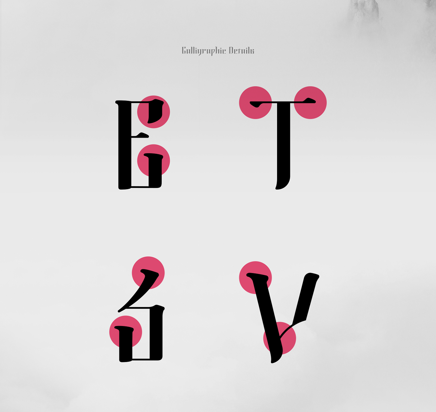 Morning Calm Typeface