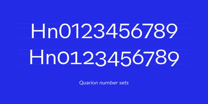 Quarion Font Family