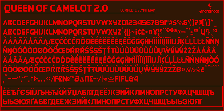 Queen of Camelot 2.0 Font