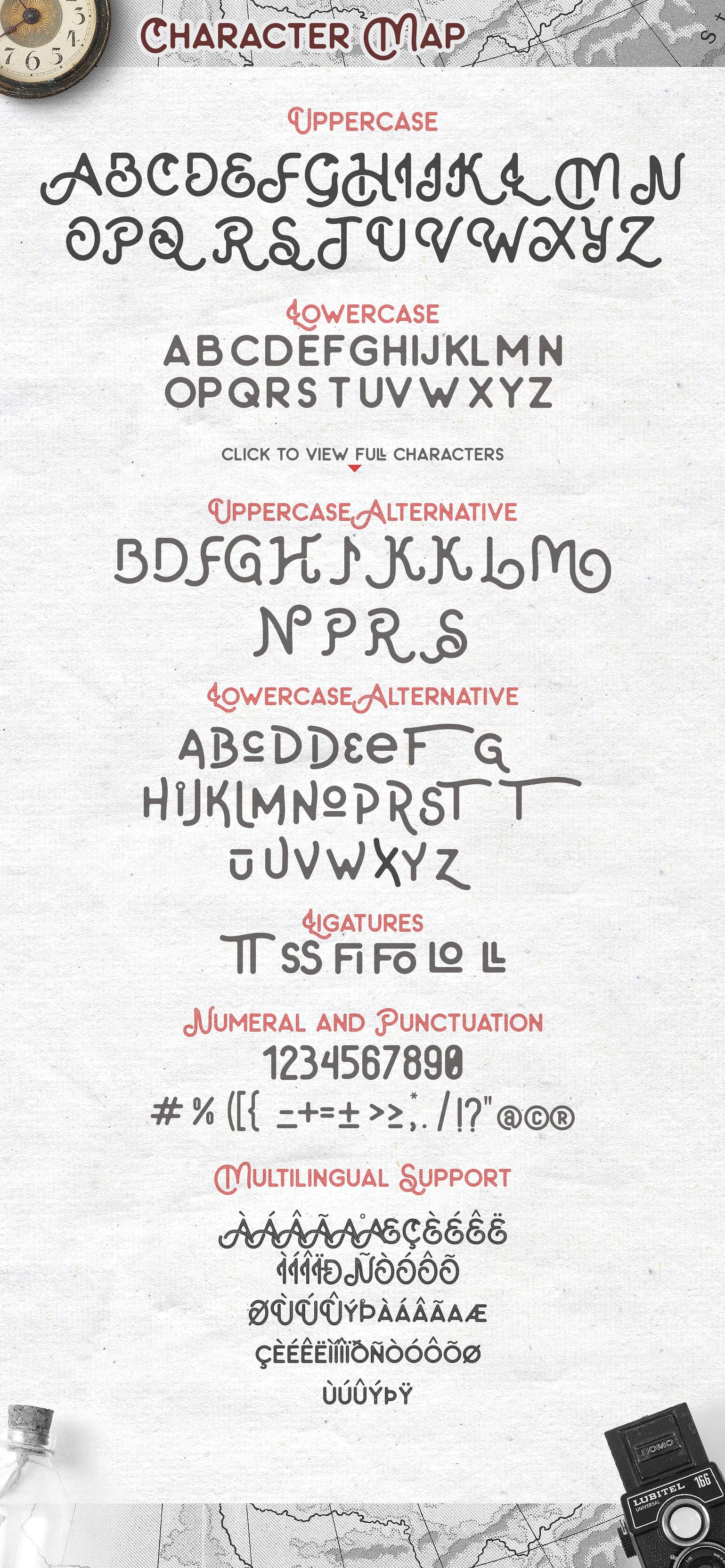 The Artland Typeface
