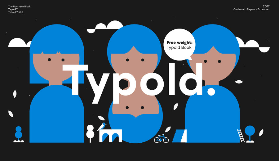 Typold - Befonts - Download free fonts