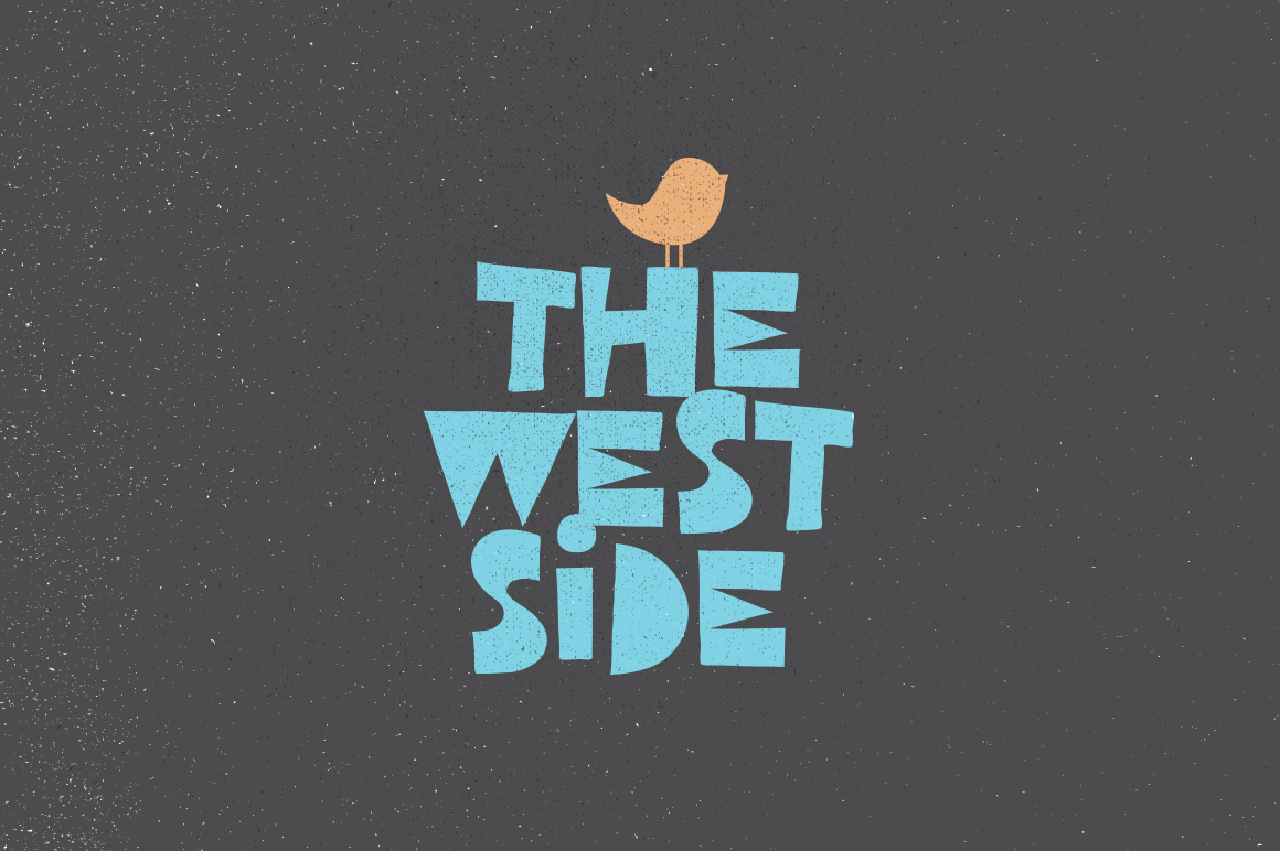 West Side Typeface