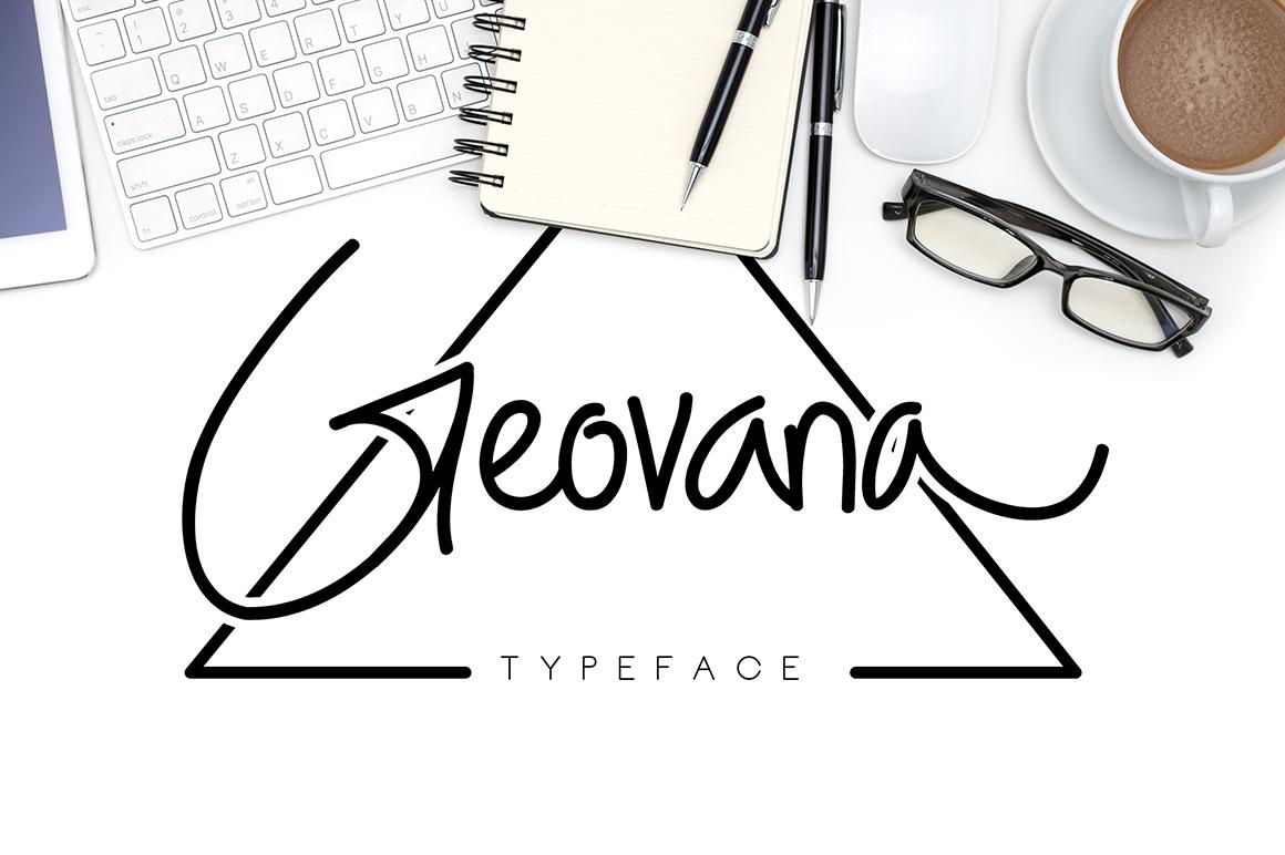 Geovana Typeface