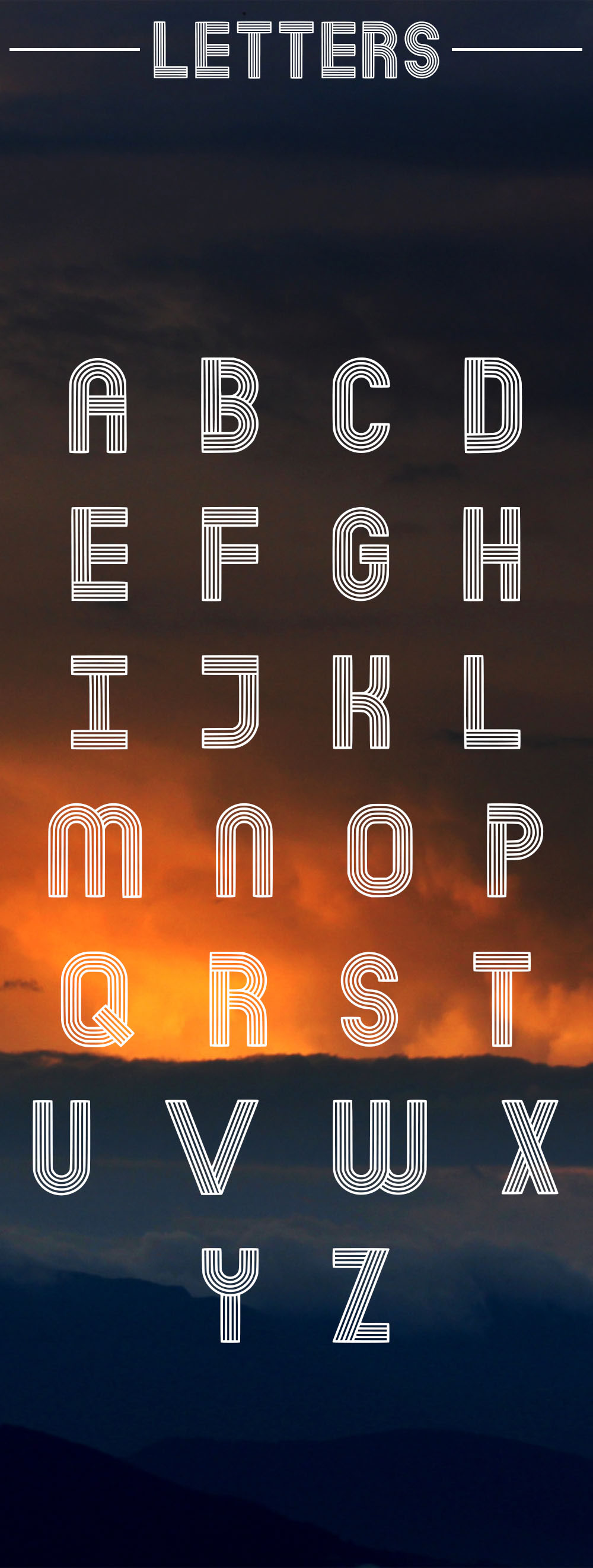 Dubline Typeface