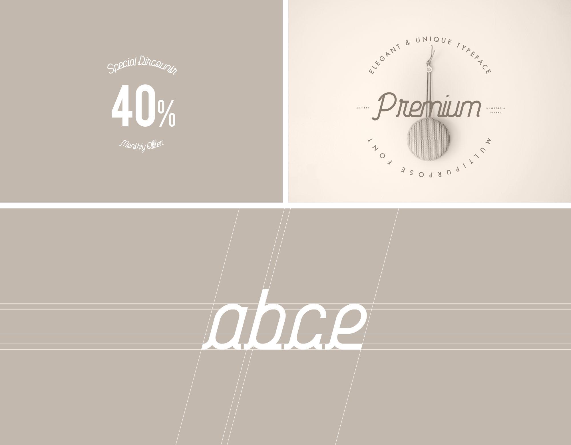 Habitual Typeface