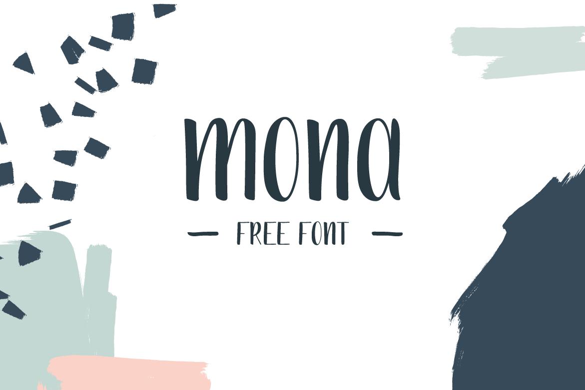 Mona Handdrawn Font - Befonts.com