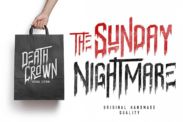 Sunday Nightmare Typeface