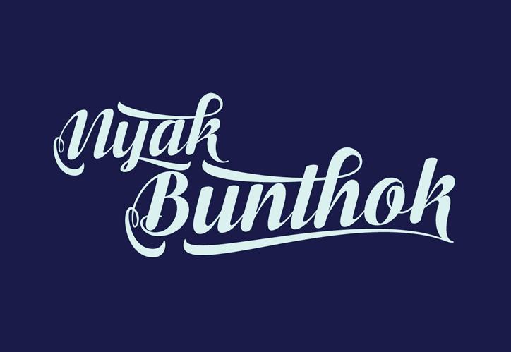 Bunthok script font befonts