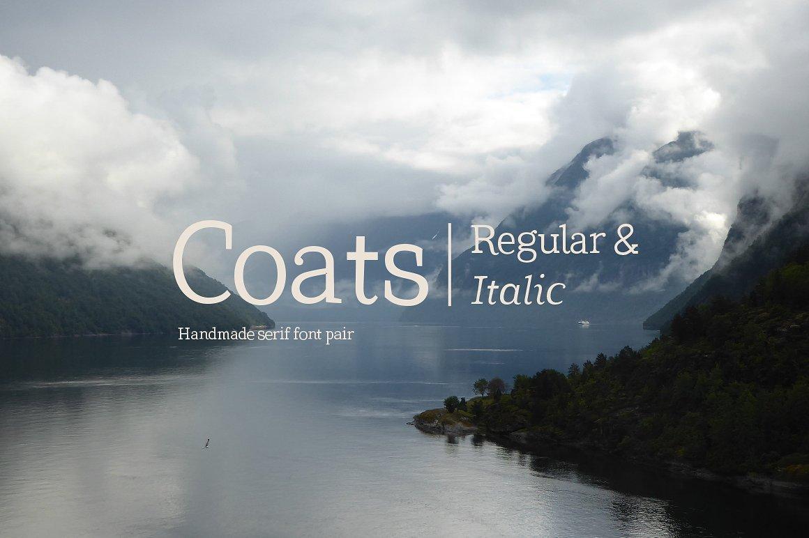 Coats Handmade Serif Font