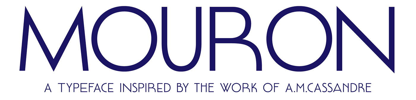 Mouron Typeface