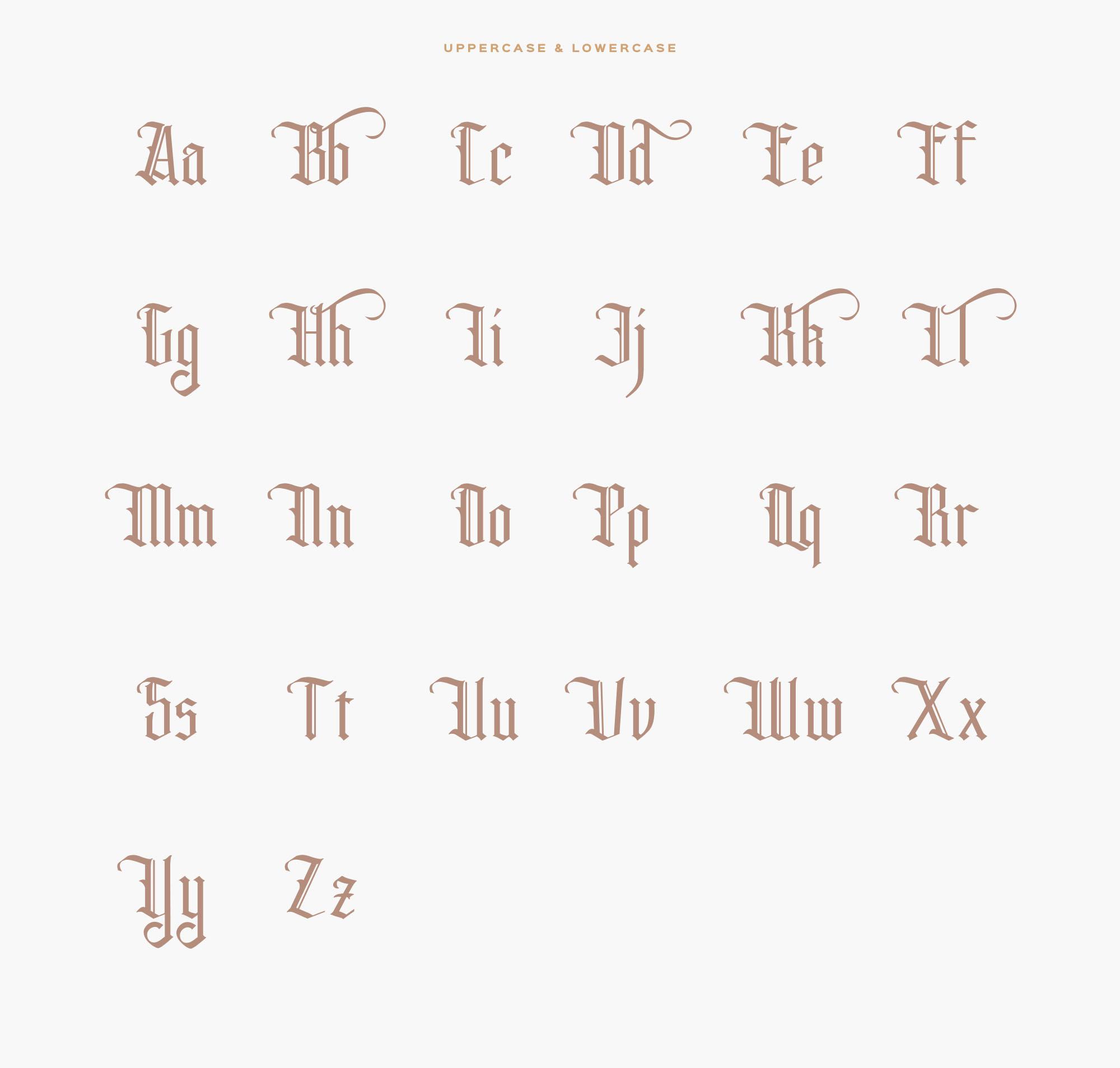 Rhama Typeface