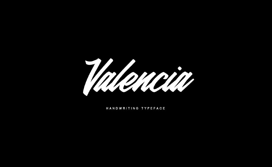 Valencia Calligraphy Font