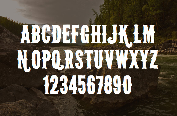 Wild Spaces Typeface