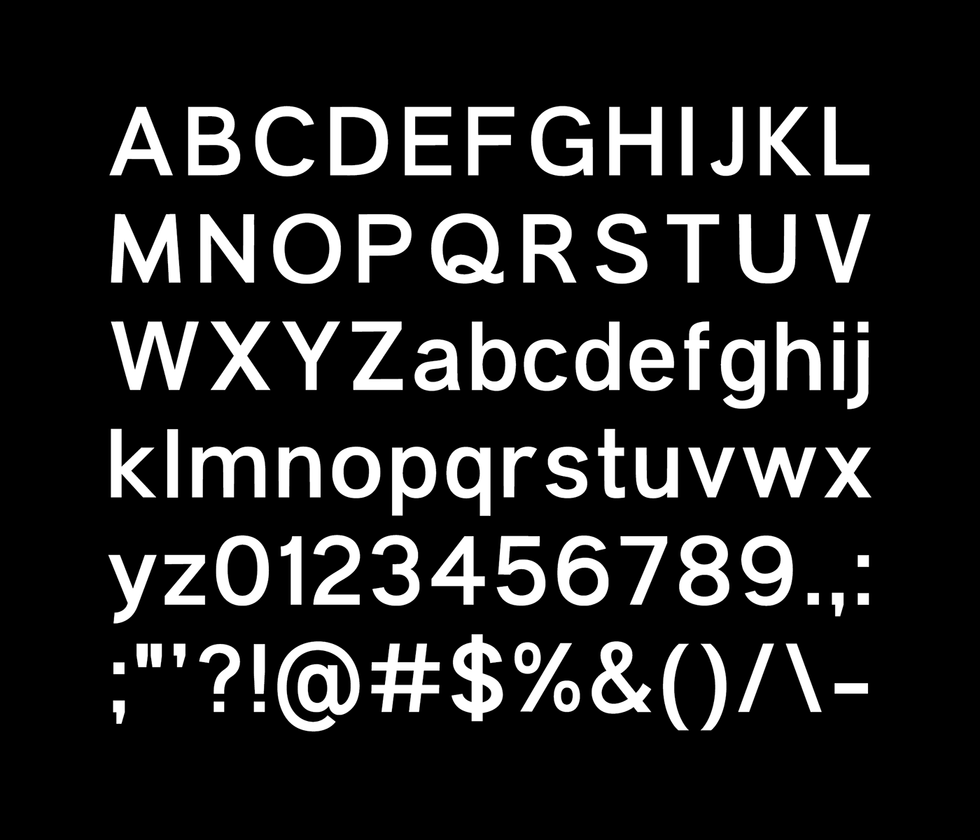 Anderson Grotesk Typeface