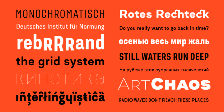 Asket Font Family