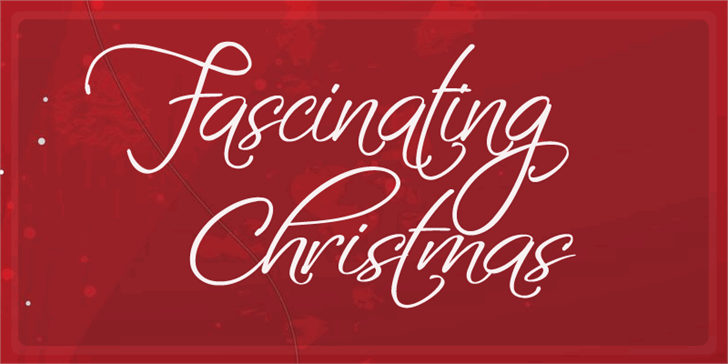 Fascinating Christmas Font