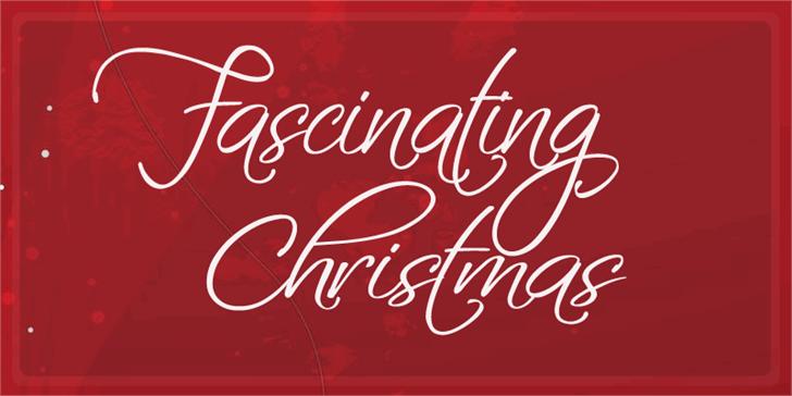Fascinating Christmas Font