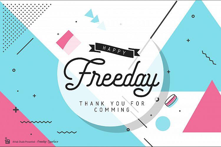 Freeday Font Family