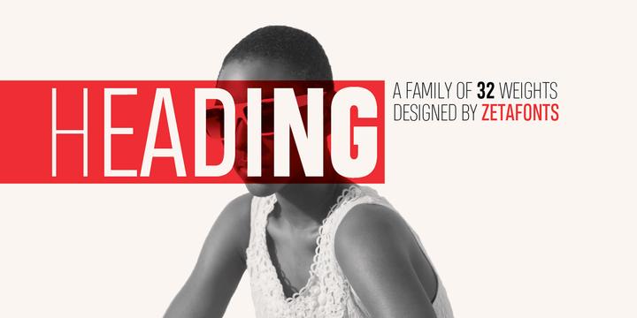 Heading PRO Font Family