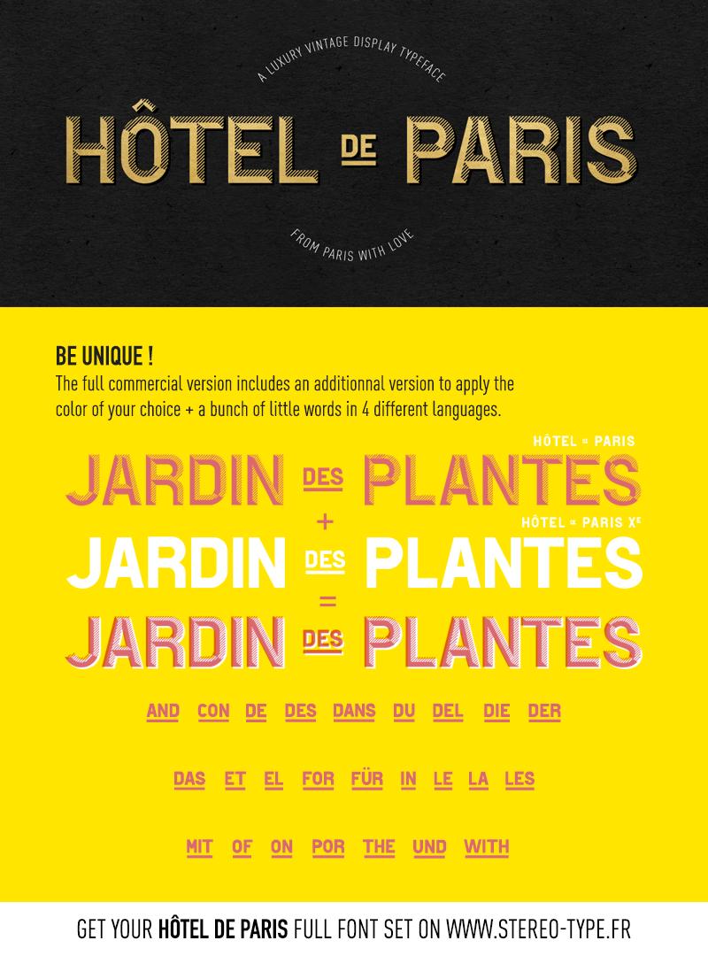 Hotel De Paris Font