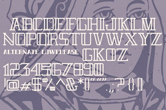 Royal Flush Typeface