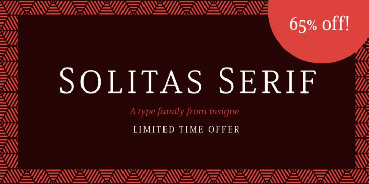 Solitas Serif Font Family