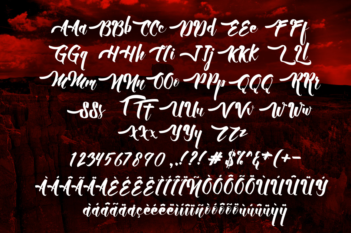 Allic Script Font