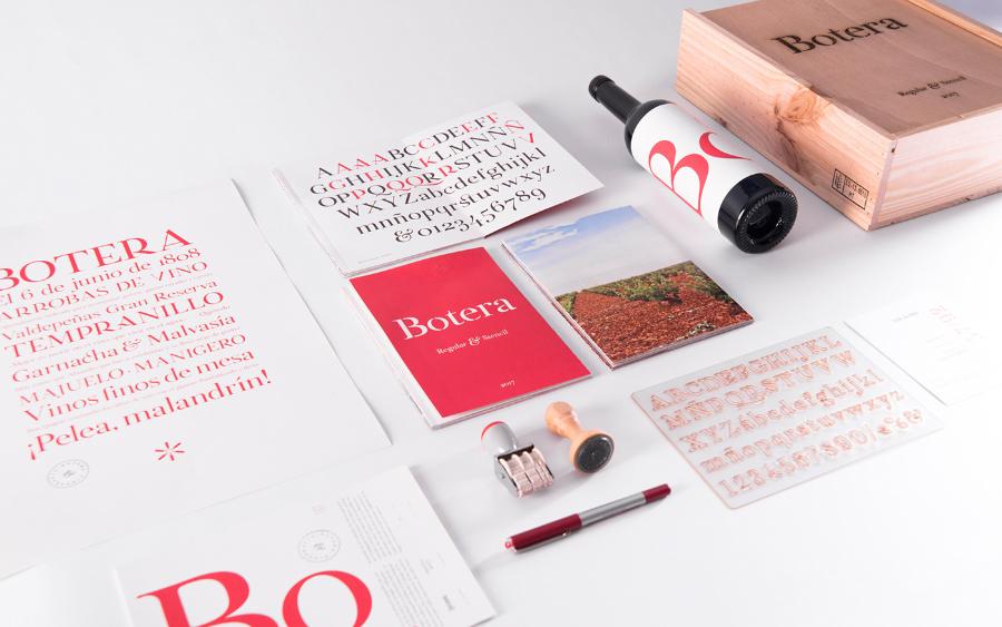 Botera Typeface