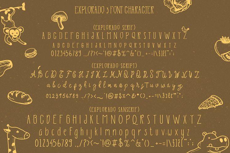 Explorado Font Family