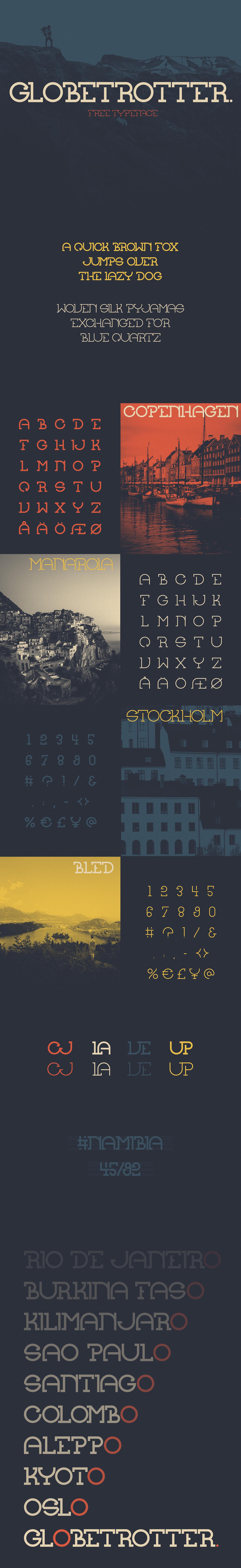 Globetrotter Typeface