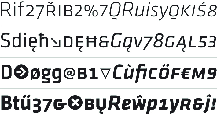Klavika Font Family - Befonts com