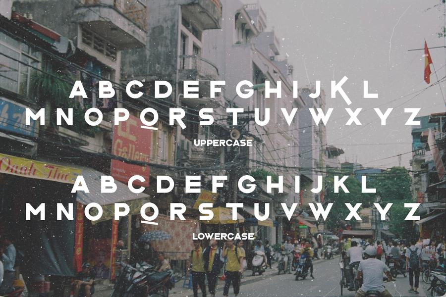 L'Hanoienne Typeface