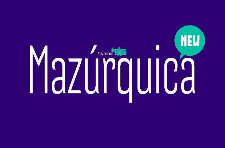 mazurquica tipografia