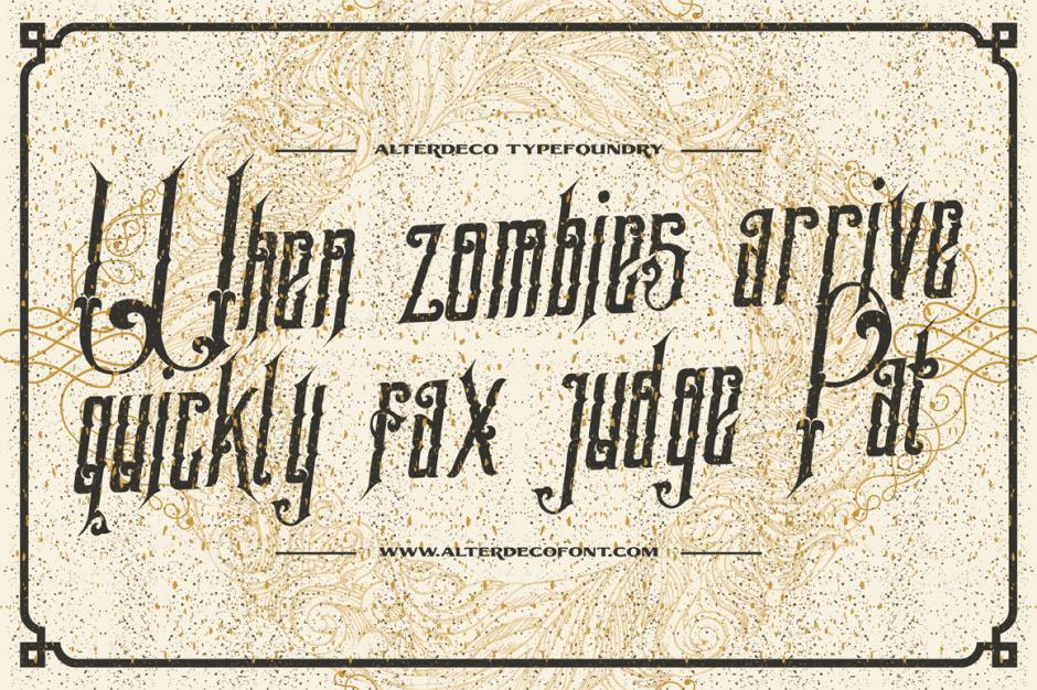 Samathor Typeface