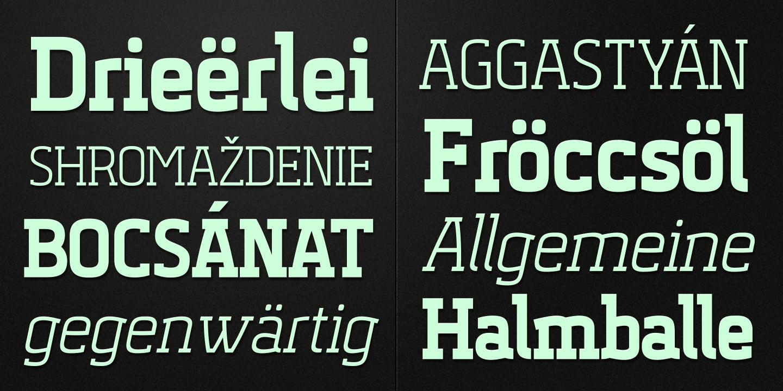 Vitali Font Family