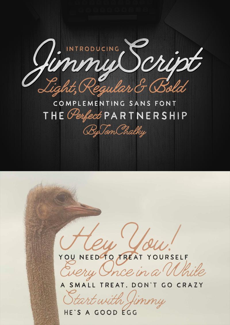 Jimmy Script Font