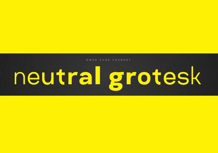 Neutral Grotesk Font Family - Befonts com