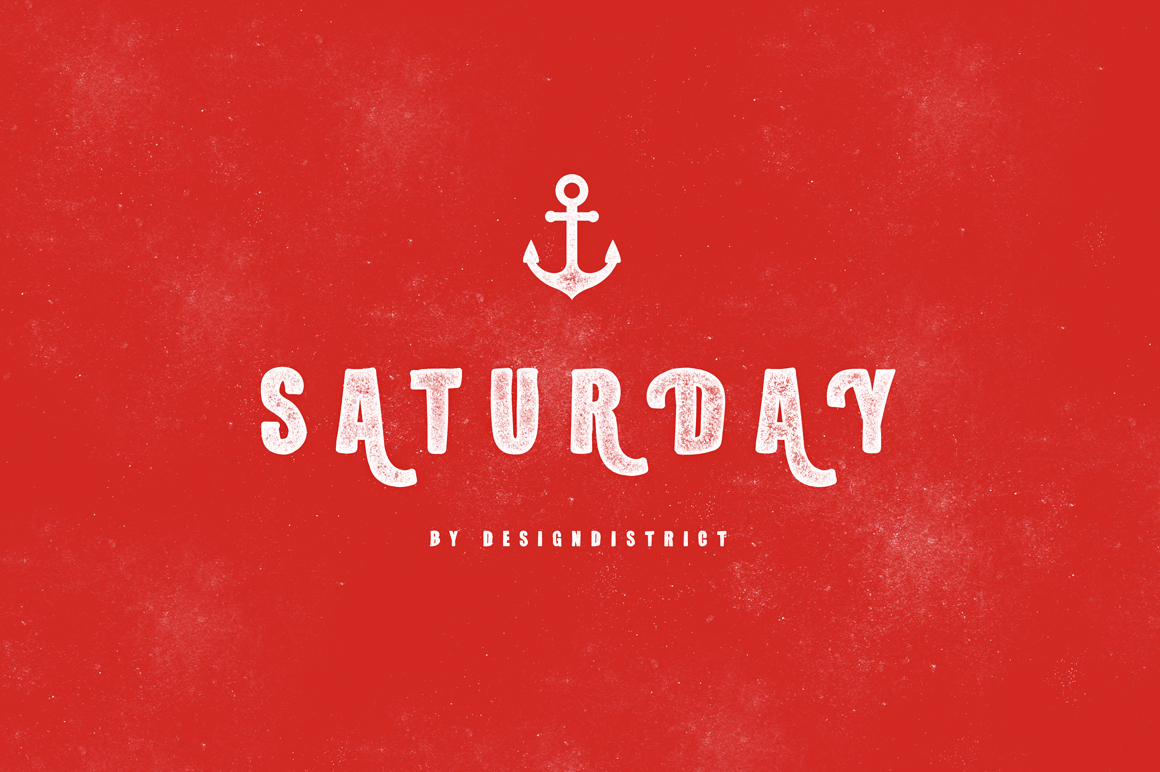 Saturday Typeface