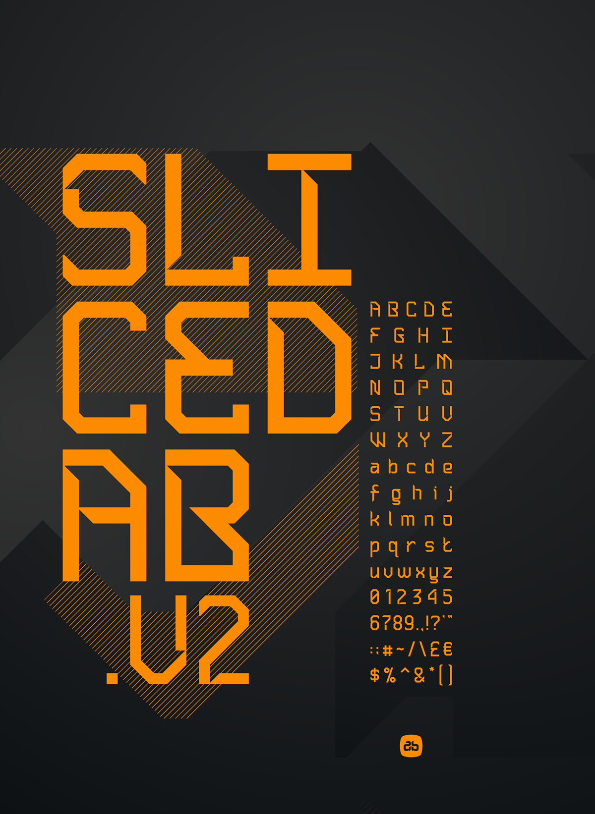 Sliced AB.v2 Typeface
