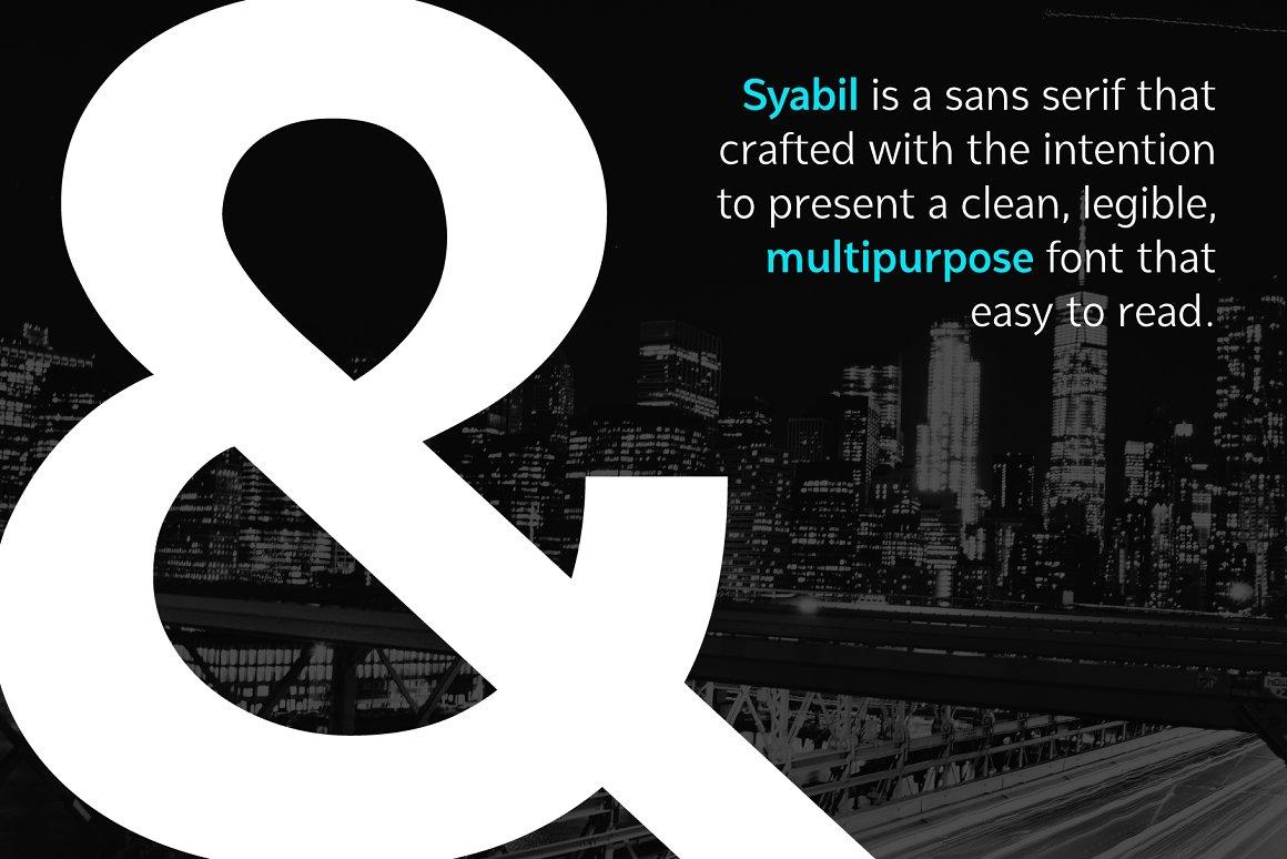 Syabil Font Family
