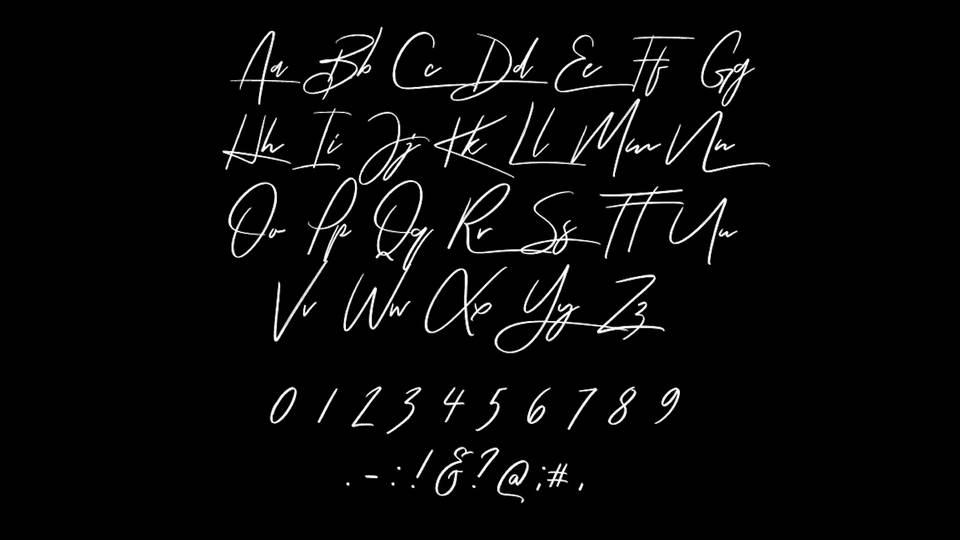 Tuesday Night Script Font
