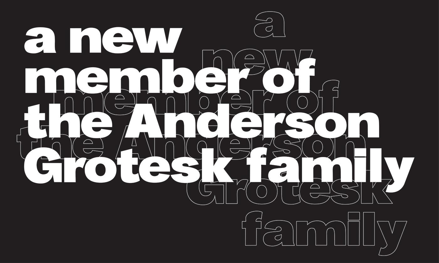 Anderson Grotesk Black Font