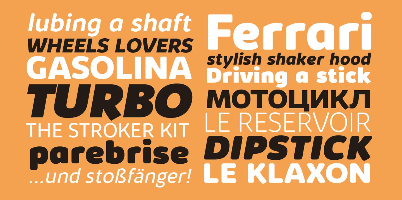 Kabrio Font Family