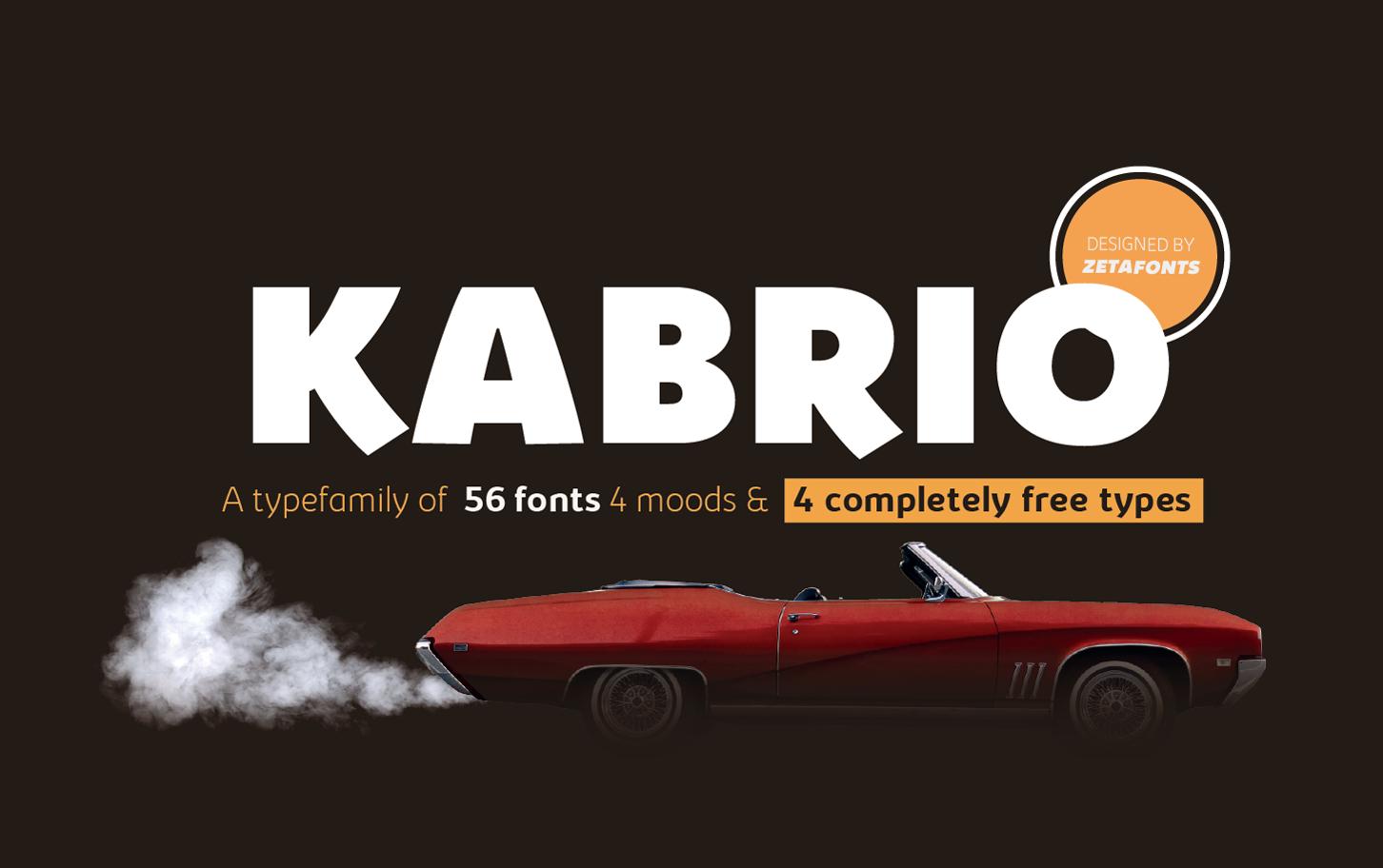 Kabrio Font Family - Befonts com