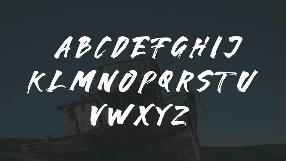 Karam Brush Font