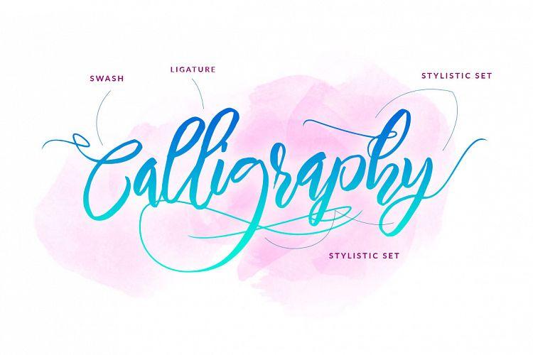 Nirmana Calligraphy Font